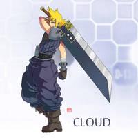 Cloud FF7 by rgm501
