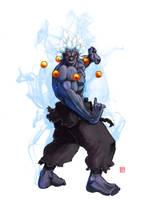 Oni Akuma SSF4 by rgm501