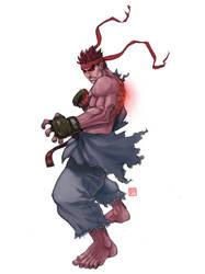 Evil Ryu SSF4 by rgm501