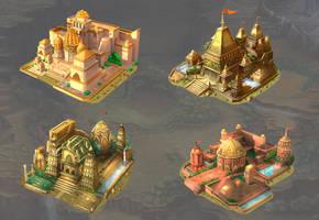 Ancient India Cities by AnirudhShekhawat