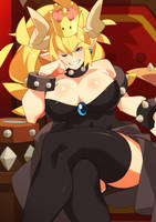 Bowsette by Nisego