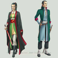c: Jade Elves by MidnightTea7