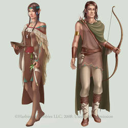 c: Copper Elves by MidnightTea7