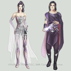 c: Silver Elves by MidnightTea7