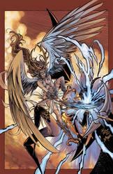 Lilith vs. Usha Collab with Kim DeMulder Colors by John-Curtis-Ryan