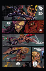 Psylocke Fight ( Marvel Comics ) Pg. 3 of 3 by John-Curtis-Ryan