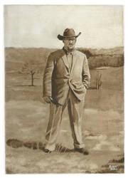 Merle Otto Schultz Acrylic by John-Curtis-Ryan