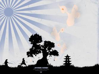 Japanese garden... by R-psyco-R