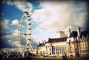 good memory of London Eye by geniusz-samozwaniec