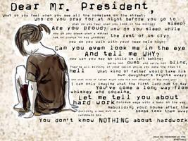 Dear Mr. President by K4t4ku