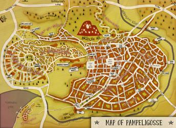 Pampeligosse (city map) by theSuricateProject
