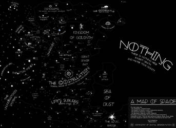 The Most Minimalistic Space Map Ever by theSuricateProject