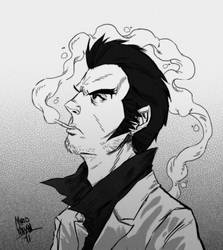 Kazuma Kiryu - Yakuza by Mario-Majan