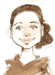 My Caricature by blasphemy35