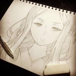 Ayaka Shindou  by NekoponArt