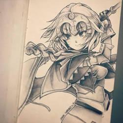 Jeanne d'Arc Ruler (Fate/Apocrypha) by NekoponArt