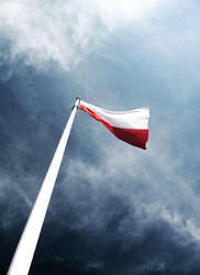 Flag of Poland by Hopkinz