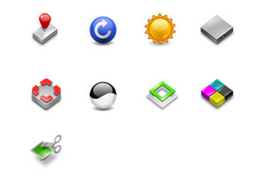 Icons for Phatch by Kekeljevic