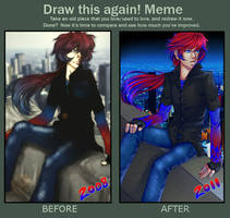 Before and After Meme by CIELO-PLUS