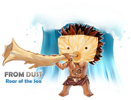 From Dust Man Chibi by CIELO-PLUS