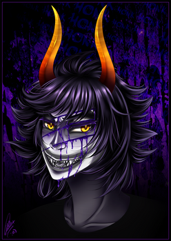 Homestuck - Sober Gamzee by CIELO-PLUS