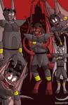 The Gargoyle guards by fireheart1001