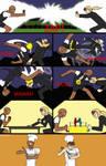 Epic showdown by fireheart1001