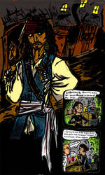 Jack Sparrow by scalesandfins