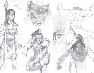 Peruvian Warriors ii by IvanArtWorks