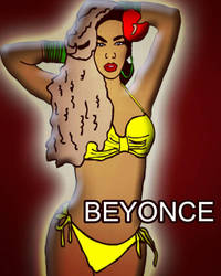 Beyonce Fan Art by WillieD891