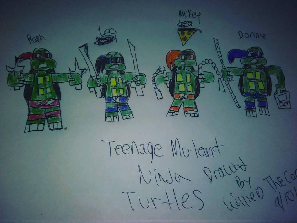 Tmnt Anime Fan Art by WillieD891