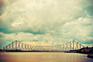Howrah Bridge by anveshdunna