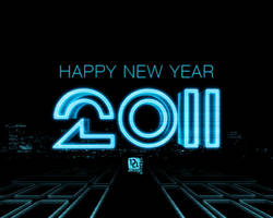 Tron new year by anveshdunna