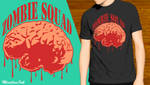 Zombie Squad - T shirt by MindlessInk