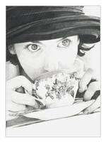 The Tea Girl by arwenita