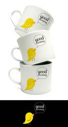 Good Morning Mug by arwenita