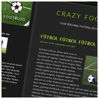 FootBlog - Free Blogger theme by arwenita