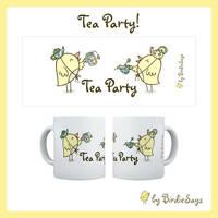 BS - Tea Party Mug by arwenita