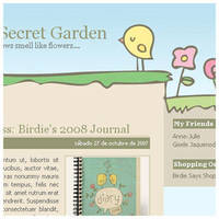 Birdie's Secret Garden by arwenita