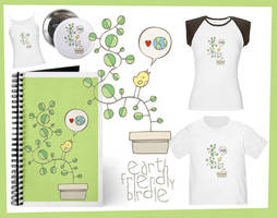 Earth Friendly Birdie Goodies by arwenita