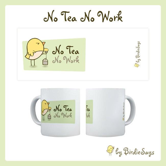 BS - No tea No work by arwenita