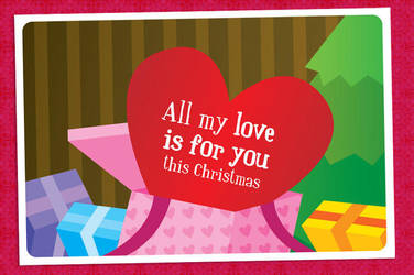 My love to you Card by arwenita