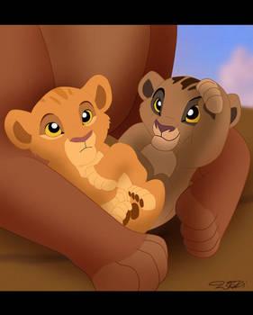Newborn Cubs by Capricornfox