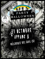 Flyer of Halloween party by Dj-Kidz