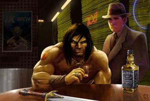 Conan The BarBarian by ay-han