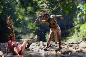 Borneo vs Amazonia..I by jeffzz111