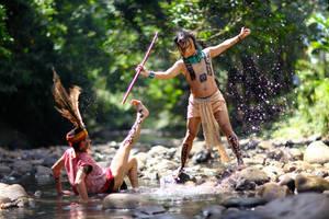 Borneo vs Amazonia..II by jeffzz111