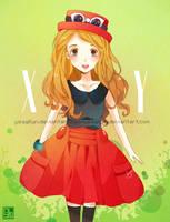 Serena XY by lynchees