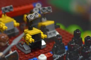 Lego Wall-E by impactbooks
