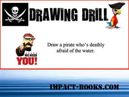 Pirate Drawing Drill by impactbooks